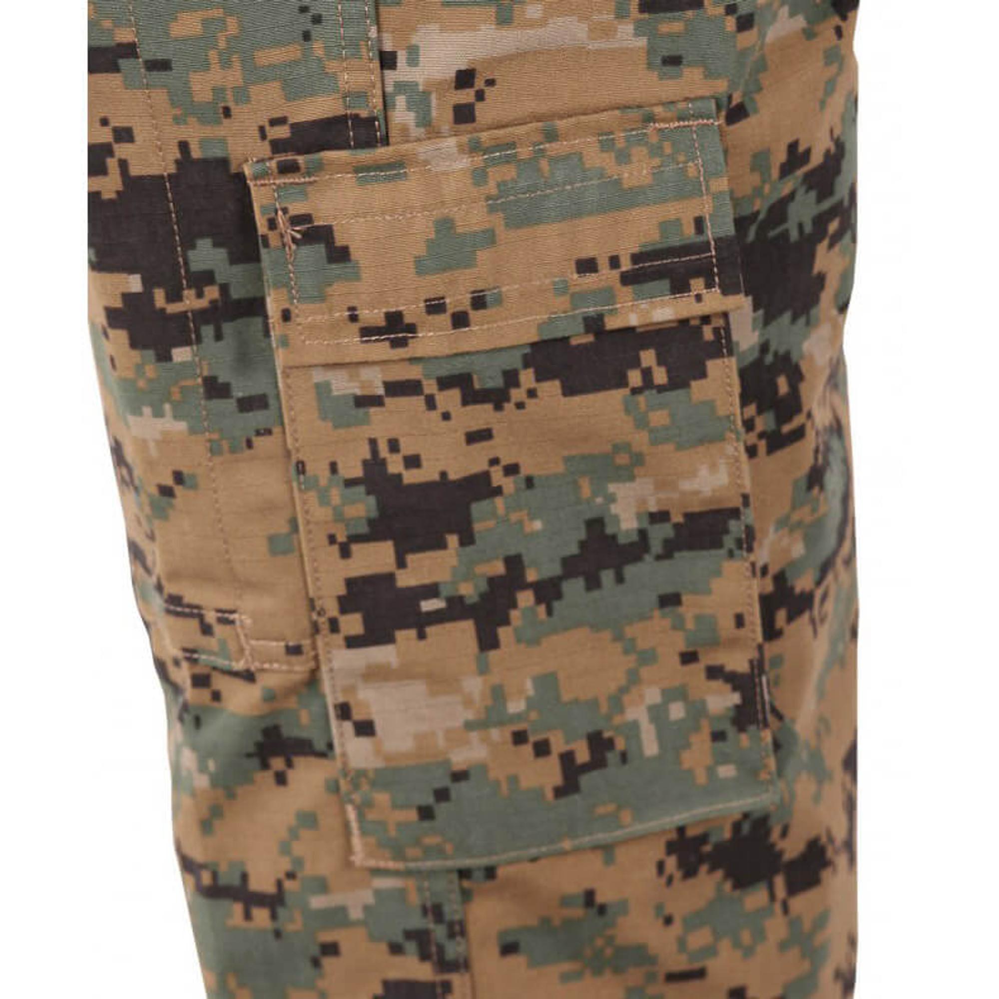 Tactical Military ACU Pants Battlerip Rip Stop Desert Digital Camo Propper F5211