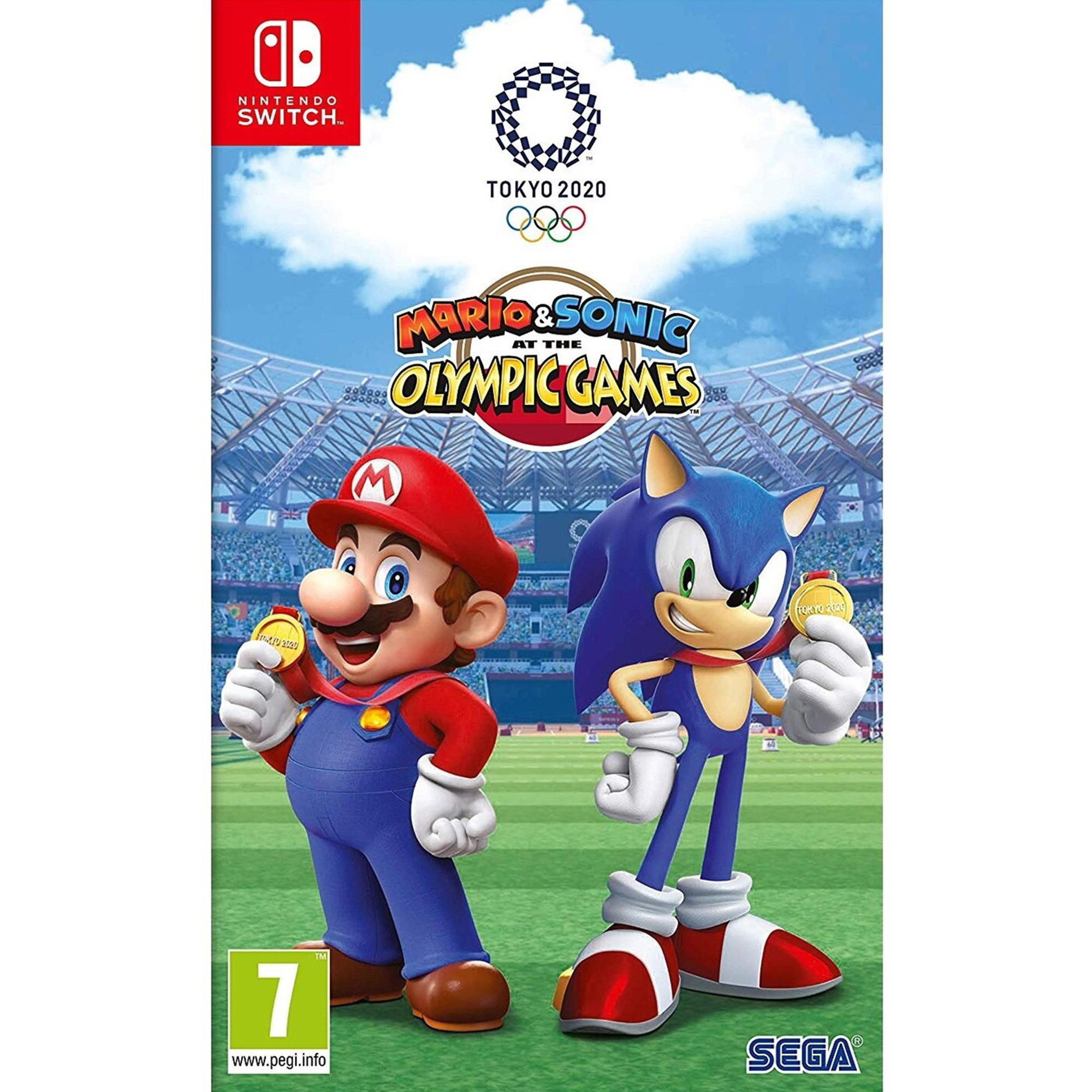Nintendo Switch Mario Sonic At The Olympic Games Tokyo 2020 Import Region Free