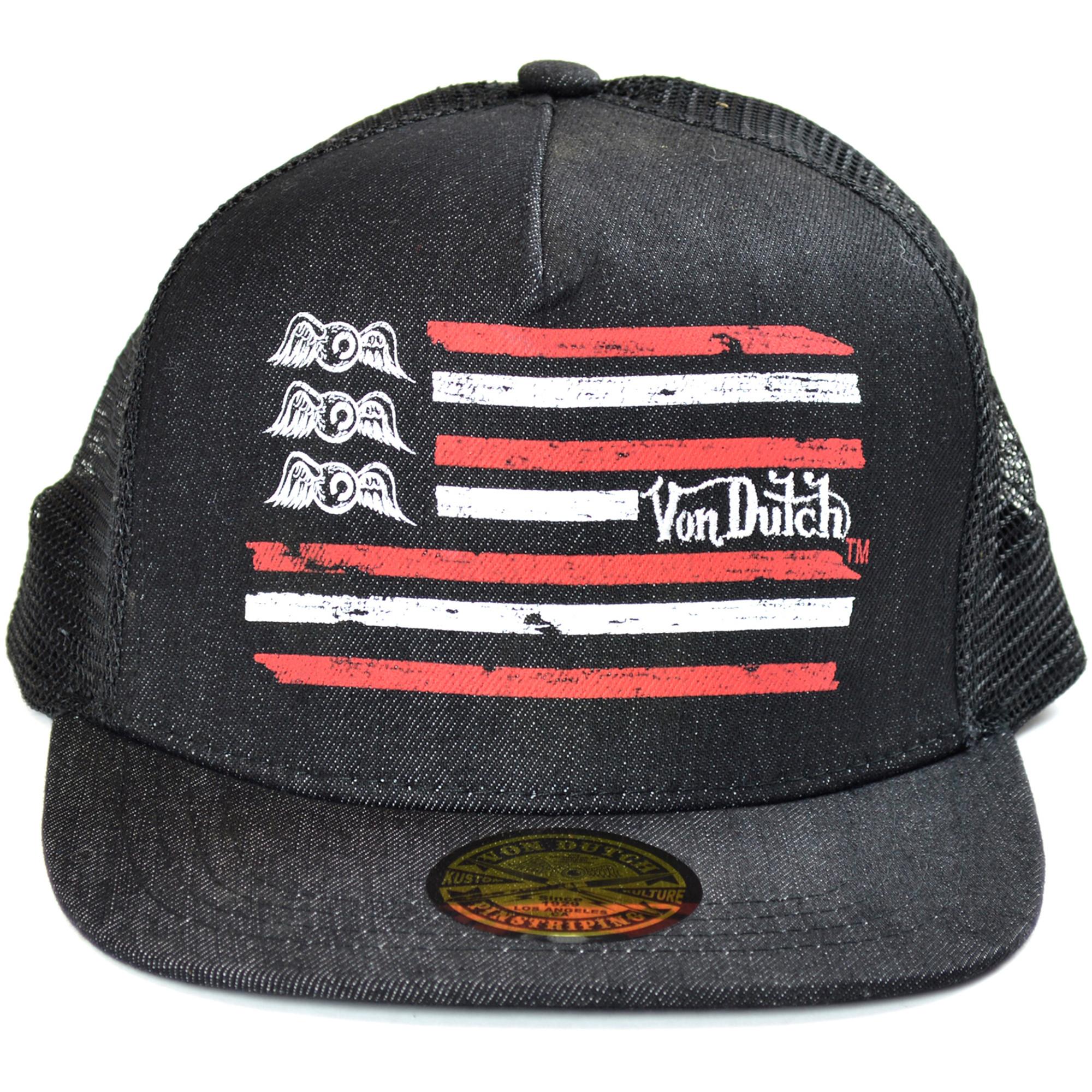 7413392115b Von Dutch Men s Women s Trucker Hat - One Size