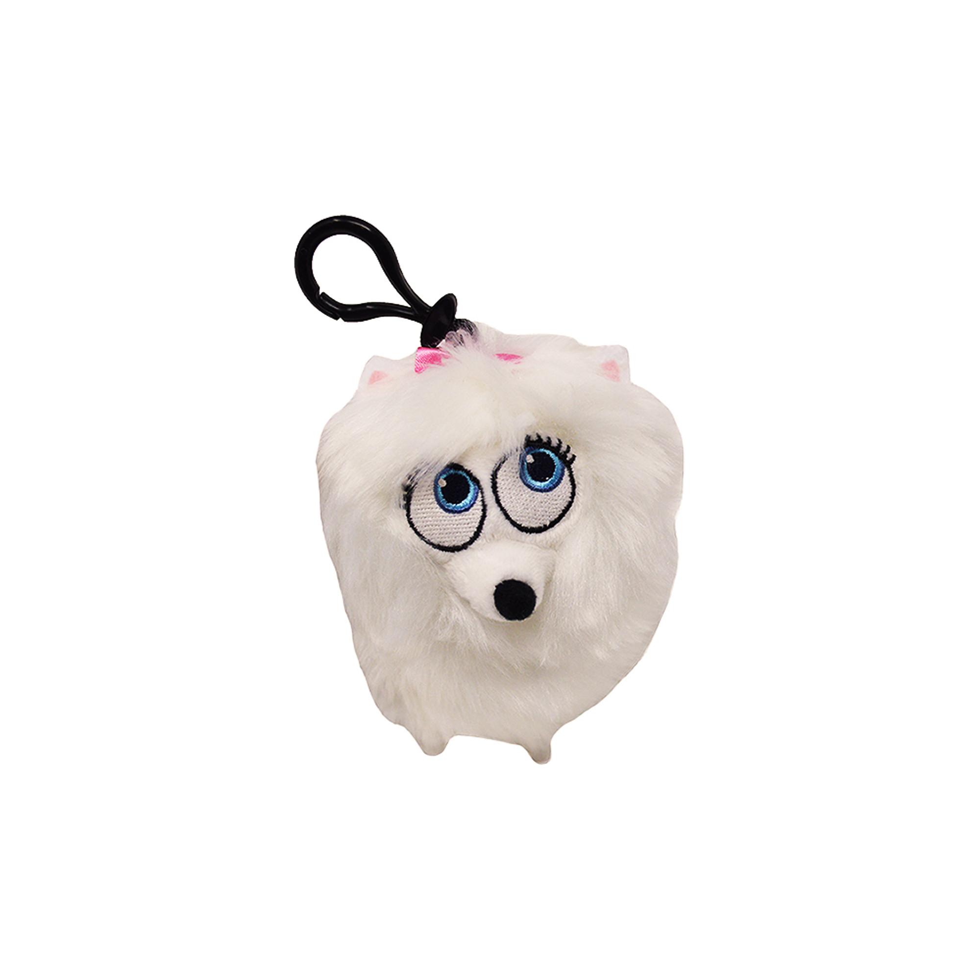 Secret Life Of Pets Gidget Plush Bag Clip Plush Coin Clip Toy Bag