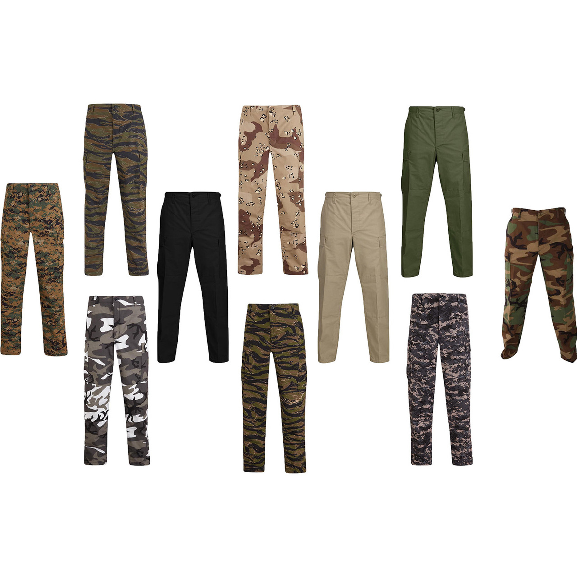 fine craftsmanship sports shoes diverse styles Propper Genuine Gear BDU Cotton Poly Ripstop Military Tactical Trouser Pants