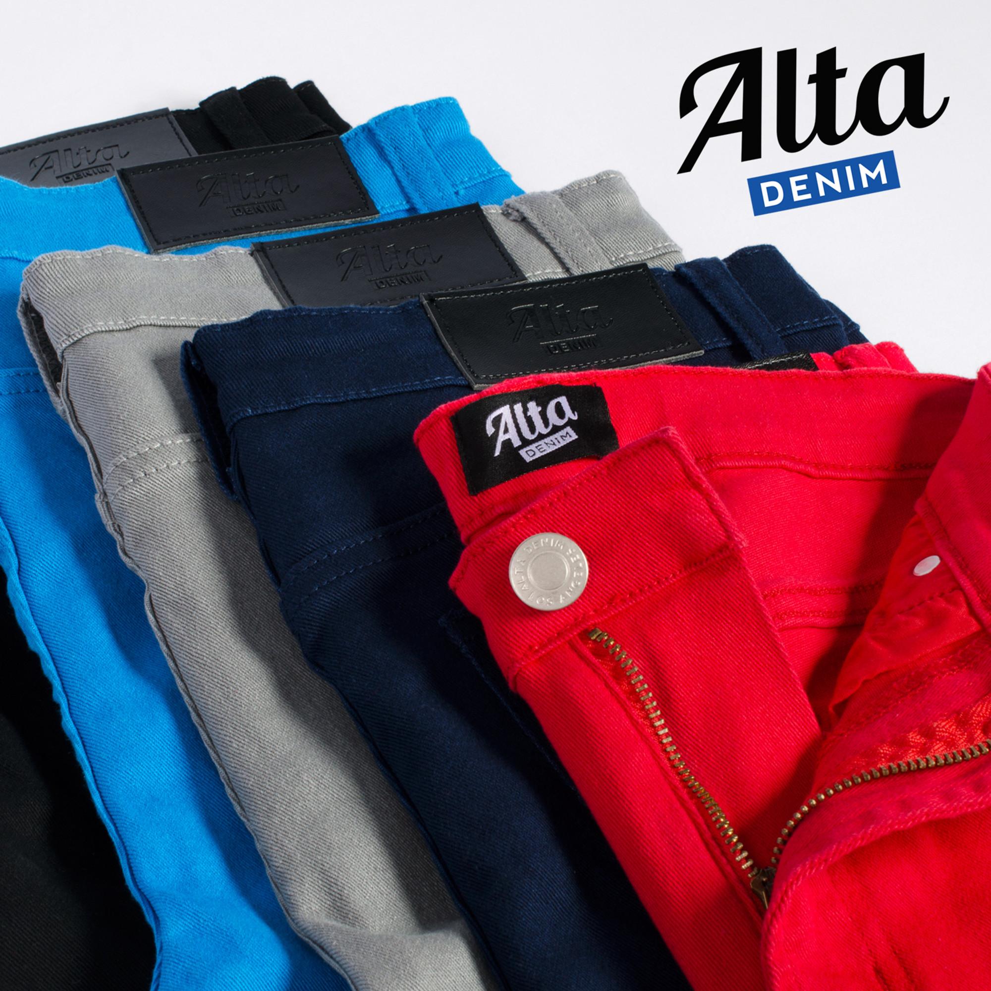cdb8a2671b0 Alta Designer Fashion Mens Slim Fit Skinny Denim Jeans - Multiple Colors &  Sizes