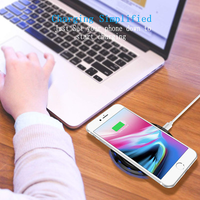 CHOETECH Wireless Cell Phone Charging Pad for Qi-Enabled Devices