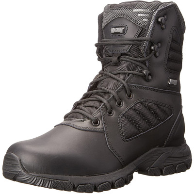 """Magnum Mens RESPONSE III 8"""" Lace Up Black Police Army Combat Boots 5211"""