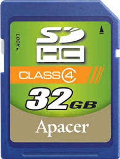 Refurbished Apacer 32GB Class 10 SDHC Multi-Use Memory Card