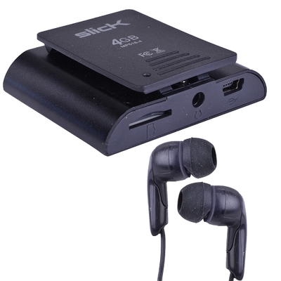"Slick MP518 1.8"" LCD Digital Music/Video Player Voice Recorder microSD 4GB"