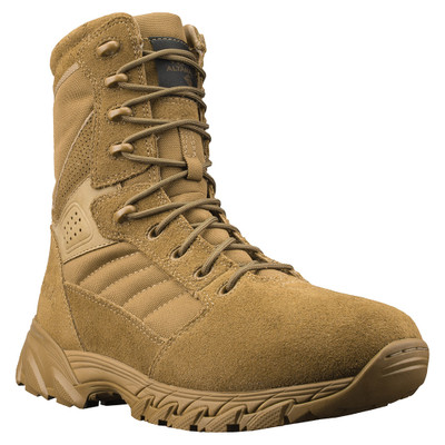 """Altama Foxhound SR 8"""" Suede Leather Slip Resistant Men's Tactical Boots Coyote"""