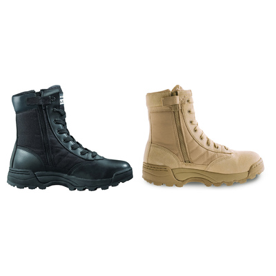 "Original Swat Men's Classic 9"" Tactical Police Military Boots Side Zip 1152"