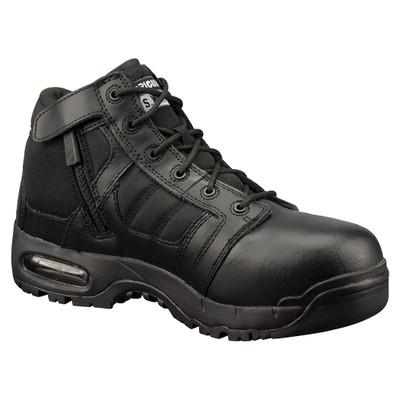 "Original Swat Metro Air 5"" Side-Zip Safety Men's Tactical Boots Black 126101"