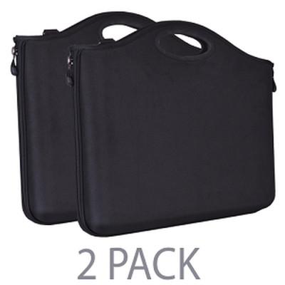 (2-Pack) Cocoon Grid-It CLB551BK Airport-Friendly Laptop Case w/Grid-It
