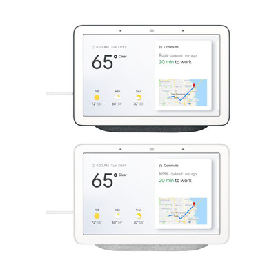 Refurbished Google Home Hub - Smart Home Controller with Google Assistant