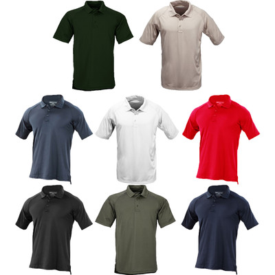 5.11 Men's Performance Short Sleeve Wrinkle Resistant Polyester Polo Shirt 71049
