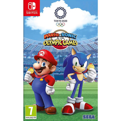 Nintendo Switch Mario & Sonic at the Olympic Games Tokyo 2020 Import Region Free