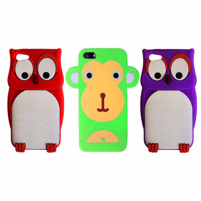 Hype Apple iPhone 5 Silicone Non Slip Protective Skin Cover Cell Phone Case