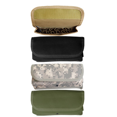 Every Day Carry Tactical Velcro MOLLE 12 Round Shotgun Ammo Pouch Holster