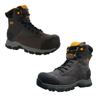 "Magnum Mens Baltimore 6"" Coffee Waterproof Composite Toe Utility Boots 5560"