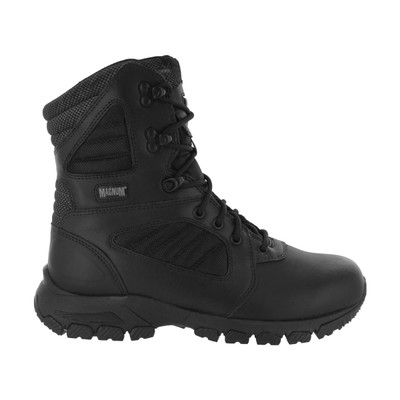 """Magnum Mens RESPONSE III 8"""" Side Zip SZ Black Police Army Combat Boots 5207"""