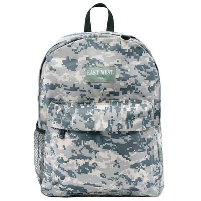 East West - U.S.A BC101S Digital Military Sports Backpack, Acu Camo