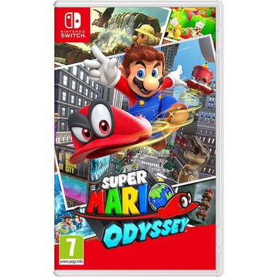 Nintendo Mario Odyssey Video Game for Nintendo Switch System