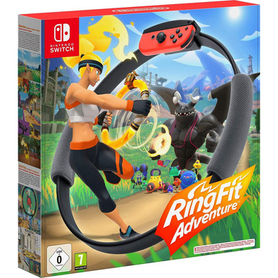 Nintendo Switch Ring Fit Adventure Game - Import Region Free
