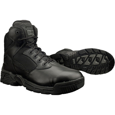 "Magnum Mens 6"" STEALTH FORCE 6.0 Side Zip SZ Black Police Army Combat Boots 5226"
