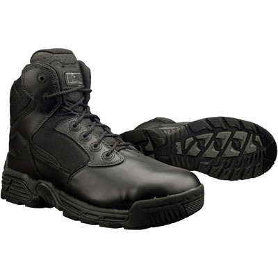 """Magnum Mens 6"""" STEALTH FORCE 6.0 Black Police Army Combat Boots 5248"""
