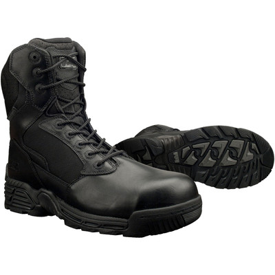 "Magnum Mens 8"" STEALTH FORCE 8.0 SZ CT WPI Black Police Army Combat Boots 5866"
