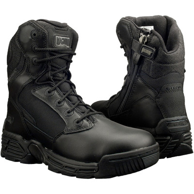 "Magnum Womens 8"" STEALTH FORCE 8.0 SZ WPI Black Police Army Combat Boots 5114"