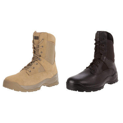 "5.11 Atac 8"" Tactical Side Zip Combat and Work Boots- All Sizes"