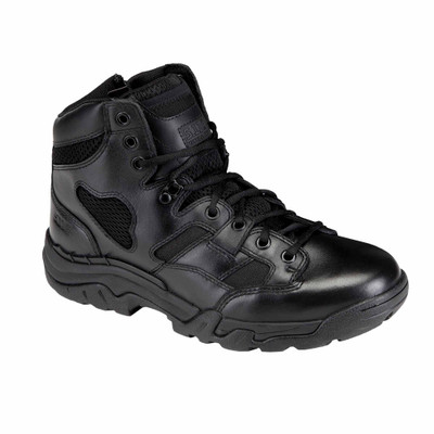 "5.11 Tactical Taclite 6"" Side Zipper Black Military and Combat Boots 12021"