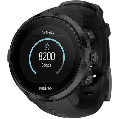 Suunto Unisex Spartan Sport Wrist Heart Rate Multi-Sport GPS Watch Black