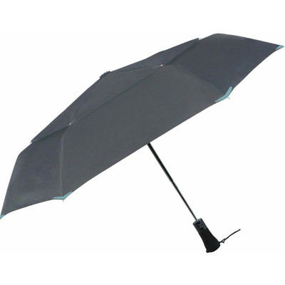 3M Scotchlite Material Automatic Open & Close Reflective Umbrella, Charcoal