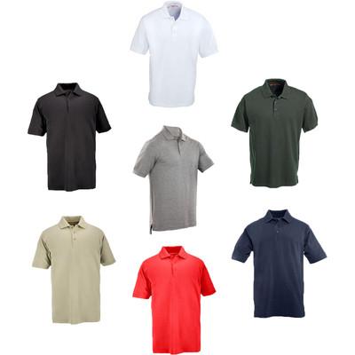 5.11 Men's Professional S/S Three Button Cotton Polo Shirt 41060