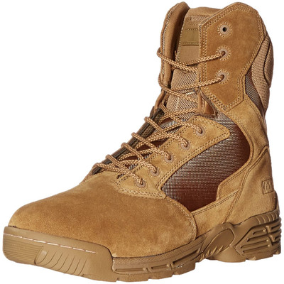 "Magnum Mens 8"" STEALTH FORCE 8.0 Coyote Police Army Combat Boots, Size 11.5"