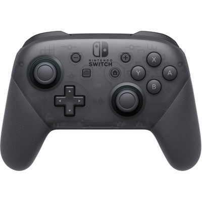 Refurbished Nintendo Switch Pro Wireless Game Controller - Black - HACAFSSKA