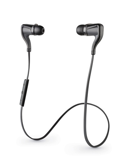 Refurbished Plantronics BackBeat Go 1 Bluetooth Wireless Stereo Earbuds w/ Mic & Controls