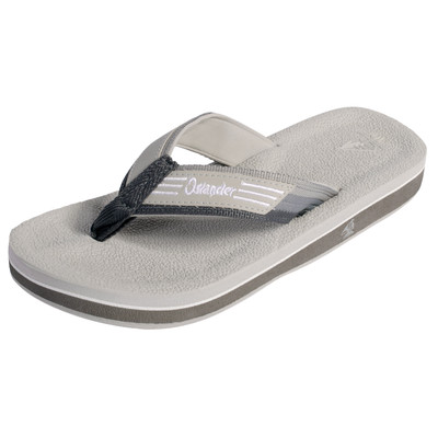 Islander Unisex All-Weather Comfortable and Stylish Flip-Flop Sandals - Grey - M6/W8
