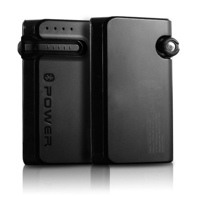 Portable 2 in 1 13000 mAh Power Bank and Bluetooth Headset Travel Charger