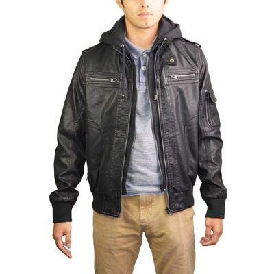 RNZ Premium Designer Men's Faux Leather Jacket - Multiple Styles