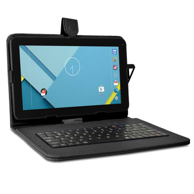 "Refurbished Craig CMP828 9"" 8GB Android Tablet Quad Core 1GB RAM w/ Cams BT Keyboard Case"