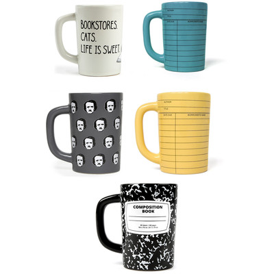 Out of Print 12oz Hot / Cold, Print Design Ceramic Coffee Mugs