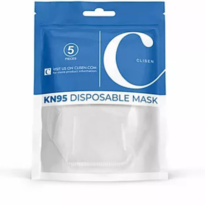 5-Pack KN95 Disposable Mask Protective Nose and Mouth Covering