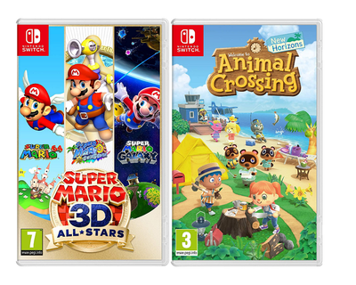 Super Mario 3D All-Stars and Animal Crossing New Horizons Bundle - Nintendo Switch
