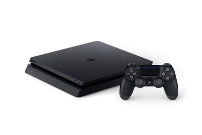 Sony Playstation 4 Slim Console 500GB Jet Black PS4