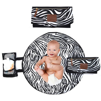 Portable Diaper Changing Pad for Baby Newborn Waterproof Mat for Home Outdoor