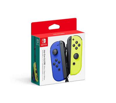 Nintendo Joy-Con (L/R) Wireless Controllers for Switch - Neon Blue / Neon Yellow