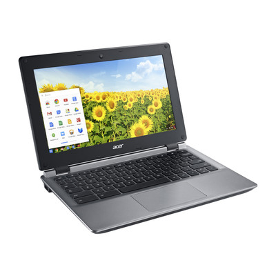 "Refurbished Acer Chromebook C730E-C555 11.6"" Laptop 2.16GHz Intel Celeron 4GB 16GB SSD"