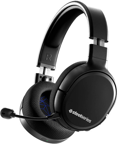 SteelSeries Arctis 1 USB-C Wireless Gaming Headset for PS5-PS4-PC-Switch – Black