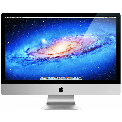 "Refurbished Apple iMac 27"" LED All in One Computer Intel i5-2400 Quad Core 3.1GHz 4GB 1TB"