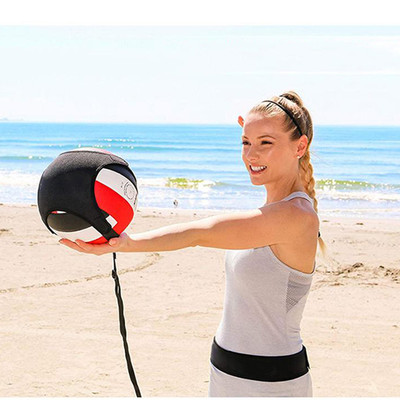 """Volleyball Training with Adjustable Waist Belt & 85"""" Fits All Volleyball Sizes"""